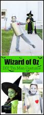diy kids tin man costume