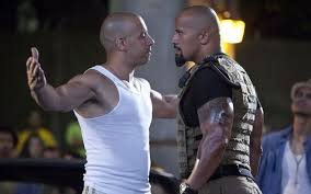 fast five rock dwayne johnson vin diesel furious actors men hunk