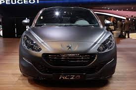 peugeot usa peugeot rcz r concept news and information autoblog