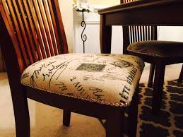 Reupholstering A Dining Room Chair Furniture Home Reupholstered Dining Room Chairs Magnificent Decor