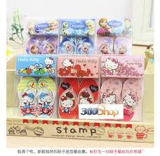 wholesale stationery lot slippers style eraser lovely gift rubber
