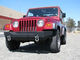 jeep front bumper 87 06 jeep wrangler yj tj heavy duty rock crawler classic front bumper