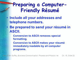 chapter 16 employment communication ppt download