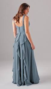 slate blue bridesmaid dresses sle everly