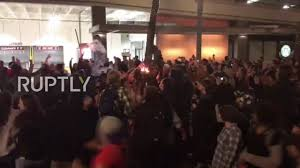 Illegal To Burn American Flag Usa Anti Trump Protesters Burn Us Flag In Portland Protests Youtube