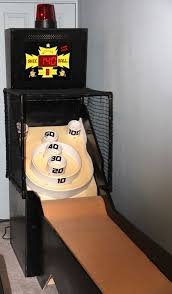 skee ball table plans mini futuristic skee ball phase 1
