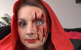Halloween Werewolf Makeup