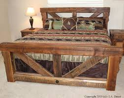 best 25 rustic wood bed frame ideas on pinterest rustic wood