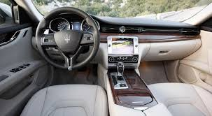 maserati jeep interior 2015 maserati quattroporte information and photos zombiedrive