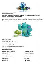 download free monsters movie worksheets johngauthier6 u0027s blog