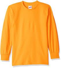 Boys Halloween Shirts by Amazon Com Soffe Big Boys U0027 Long Sleeve T Shirt Athletic Shirts