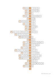 thanksgiving crossword puzzle worksheet free esl printable