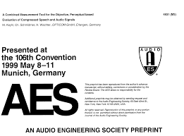 aes e library a combined measurement tool for the objective