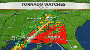 Florida Radar Weather Map by Tornado Reported In Florida As Storms Sweep South Nbc News