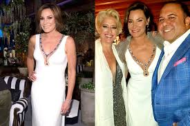 dress for wedding rehearsal luann de lesseps wore wedding dress to the reunion road to