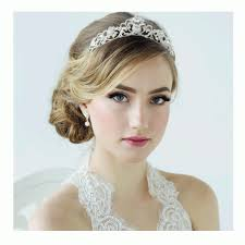 wedding tiara diamante scroll wedding tiara hton court wedding jewellery