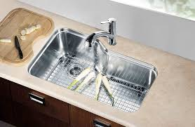 Kitchen Sinks Stores Dawn Dsu3118 Undermount Single Bowl Sink With Side Drain Polished