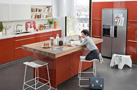 cuisine avec ilot table tendance 5 cuisines ouvertes sur le salon darty vous