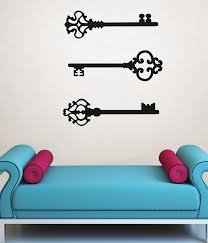 antique skeleton key wall decals from wallpops poptalk wallpops antique keys to my heart