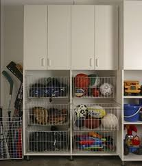 Garage Storage Organizers - sporting equipment in it u0027s place in the garage neat and organized
