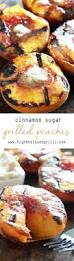 cinnamon sugar grilled peaches recipe grilled peaches peach