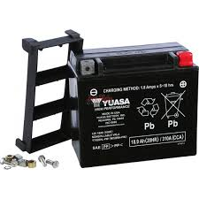 yuasa battery ytx20hl pw for kawaski jet skis polaris watercraft