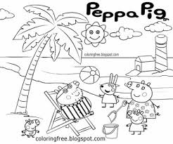 peppa pig dinosaur colouring pages dinosaur coloring pages color