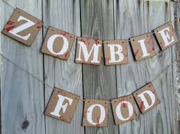 halloween decorations zombie banner halloween party decor