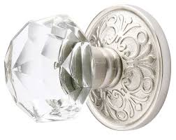 Emtek Glass Cabinet Knobs Emtek Diamond Crystal Door Knob Shop Glass Door Knobs At
