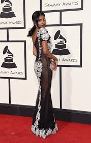 E Red Carpet Grammys X Factor U0027 Star Diamond White Goes Nearly To Grammy Awards