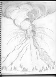 volcanic eruption sketch 100 images volcano volcano eruption
