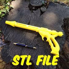 3d printed star wars jango fett blaster stl files 3d print