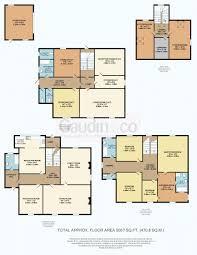 7 bed property for sale floorplan house plans pinterest
