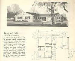 vintage house plans 1960s homes mid century homes small house