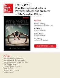 mcgraw hill education fit u0026 well 4ce