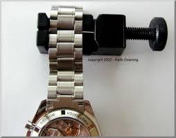 omega bracelet links images Resizing an omega watch bracelet the easy way jpg