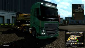volvo truck range euro truck simulator 2 n27 realistic physics volvo fh sleeper john