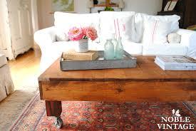 rustic industrial coffee table noble vintage