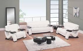 Modern Leather Living Room Furniture Sets White Leather Living Room Furniture Visionexchange Co