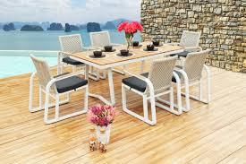 Outdoor Laminate Flooring The Veranda Collection Dining Sets