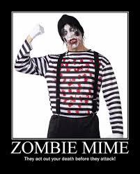 Funny Zombie Memes - zombie mime funny zombie apocalypse memes pics bajiroo com