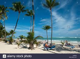 bavaro beach at riu bambu hotel punta cana dominican republic