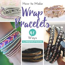 beaded bracelet jewelry images How to make a wrap bracelet 42 ways png