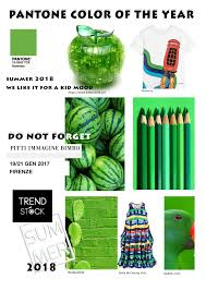 color of year pantone colour of the year summer 2018 trend stock