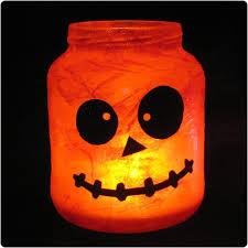 diy tutorial halloween jar luminaries