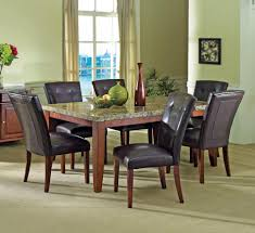 cheap dining room table sets black leather built dining chair