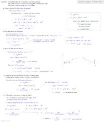 Motion Worksheets Parametric Equations Practice Jennarocca