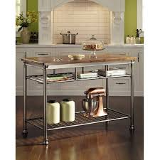 the orleans kitchen island home styles orleans kitchen island with butcher block top walmart