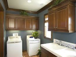 laundry cabinet design ideas bathroom gray white brown laundry room decor with brown wall