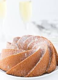 champagne pound cake blahnik baker